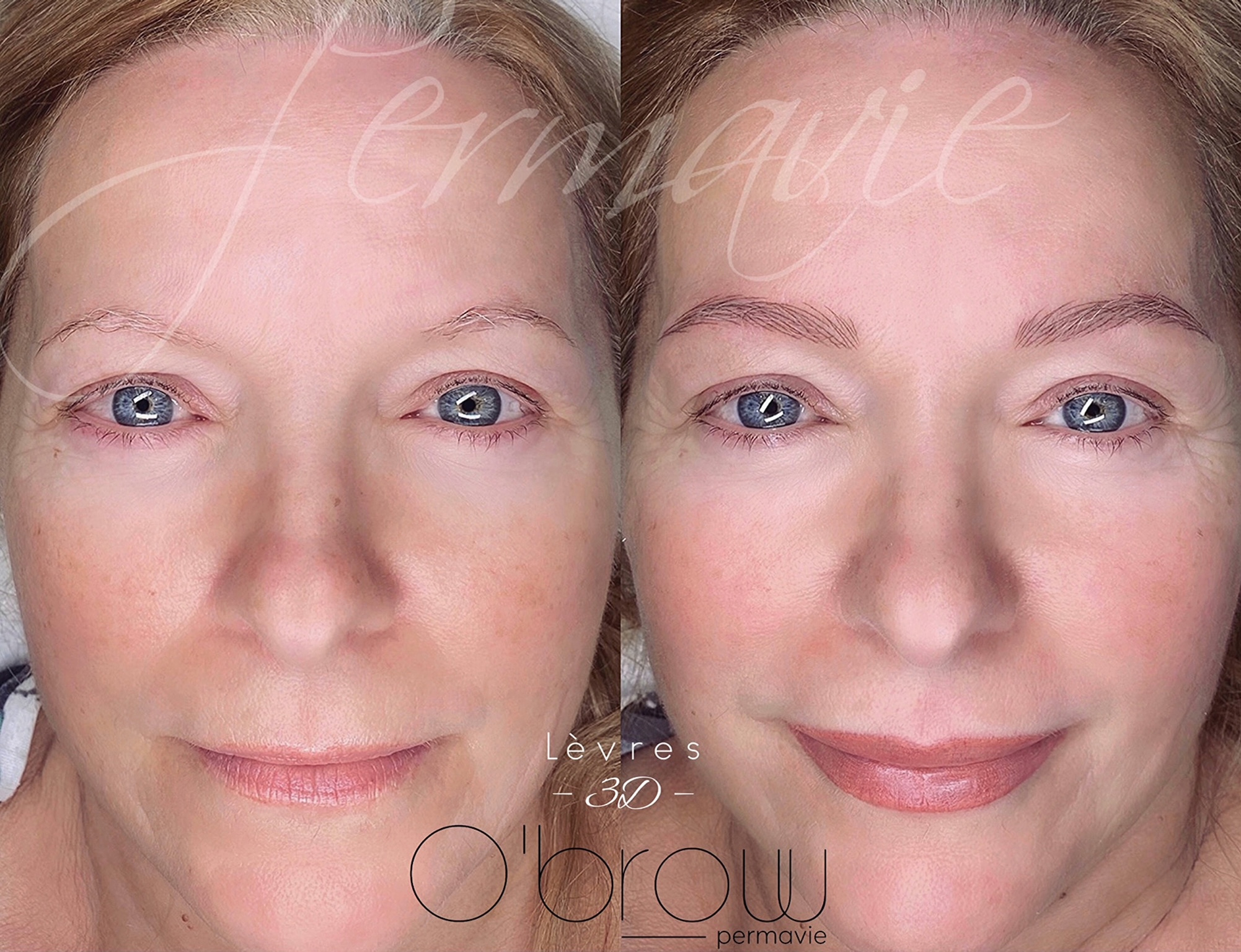 Maquillage permanent Lèvres 3D