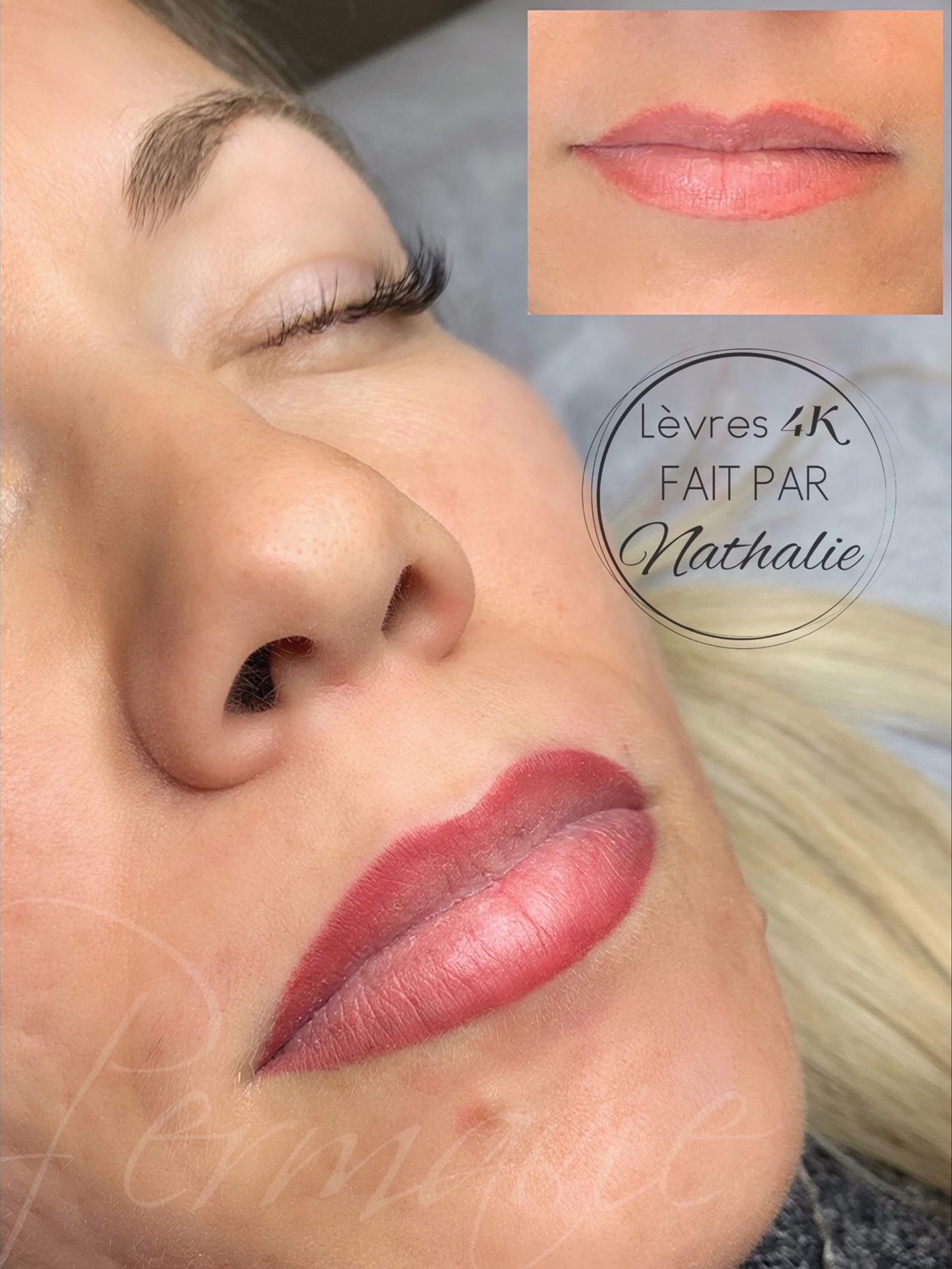 Maquillage permanent Lèvres 4K